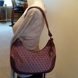 Plum Dooney&Bourke Shoulder Bag